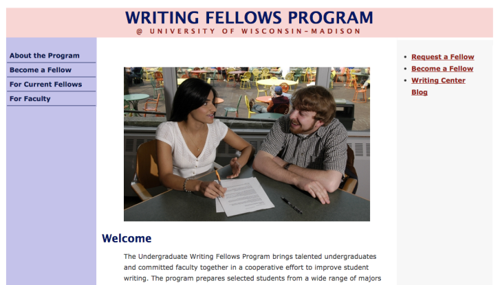Click on this image to go to the official Writing Fellows Program website
